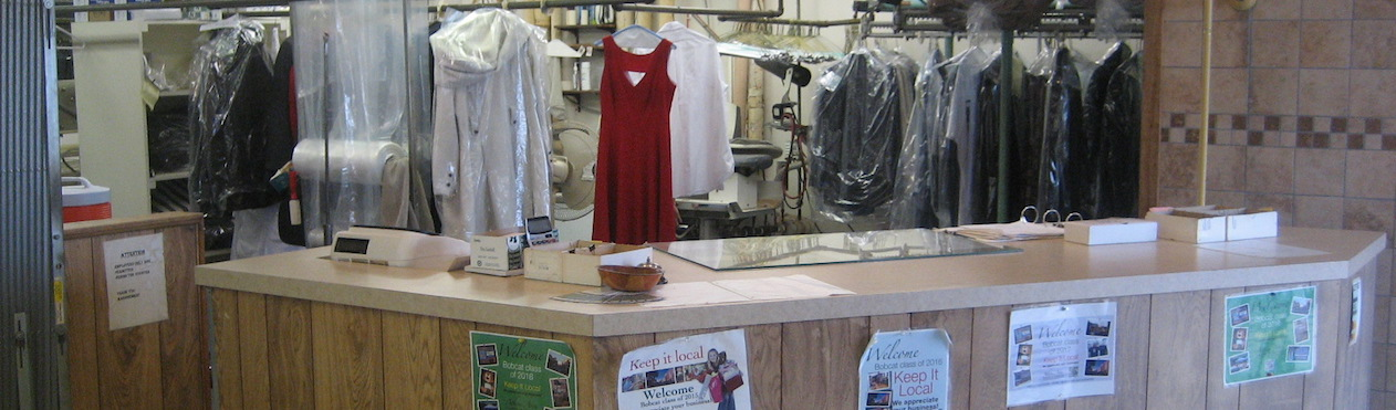 Dry Cleaner Counter Picture