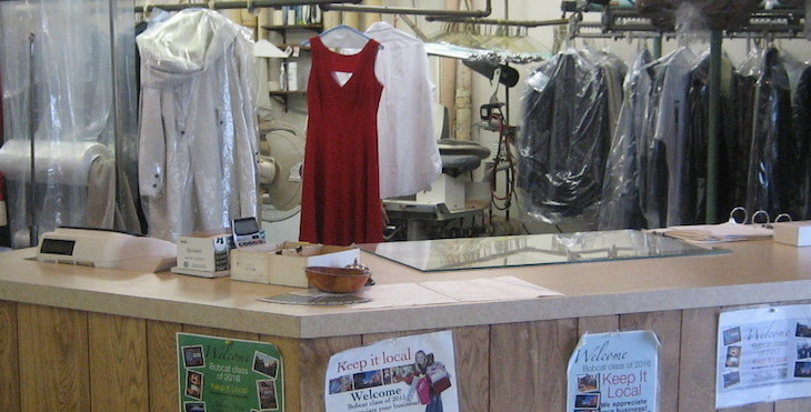 Dry Cleaner Desk Pic